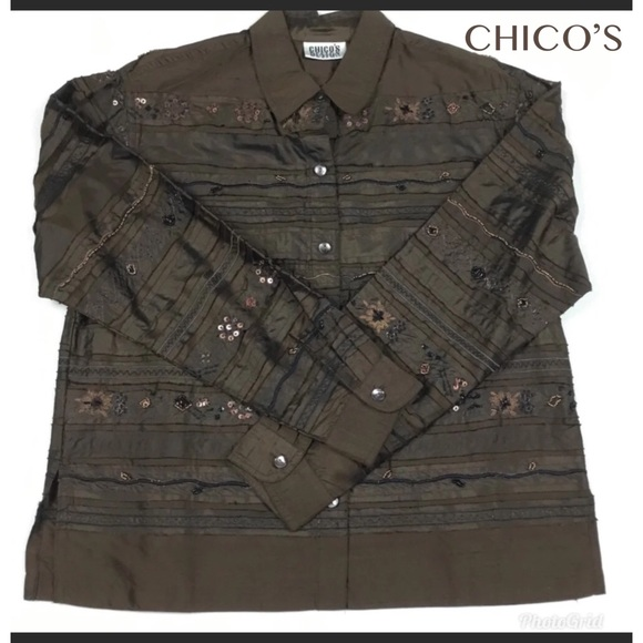 Chico's Other - CHICO JACKET. SIZE CHICO 0. NWOT